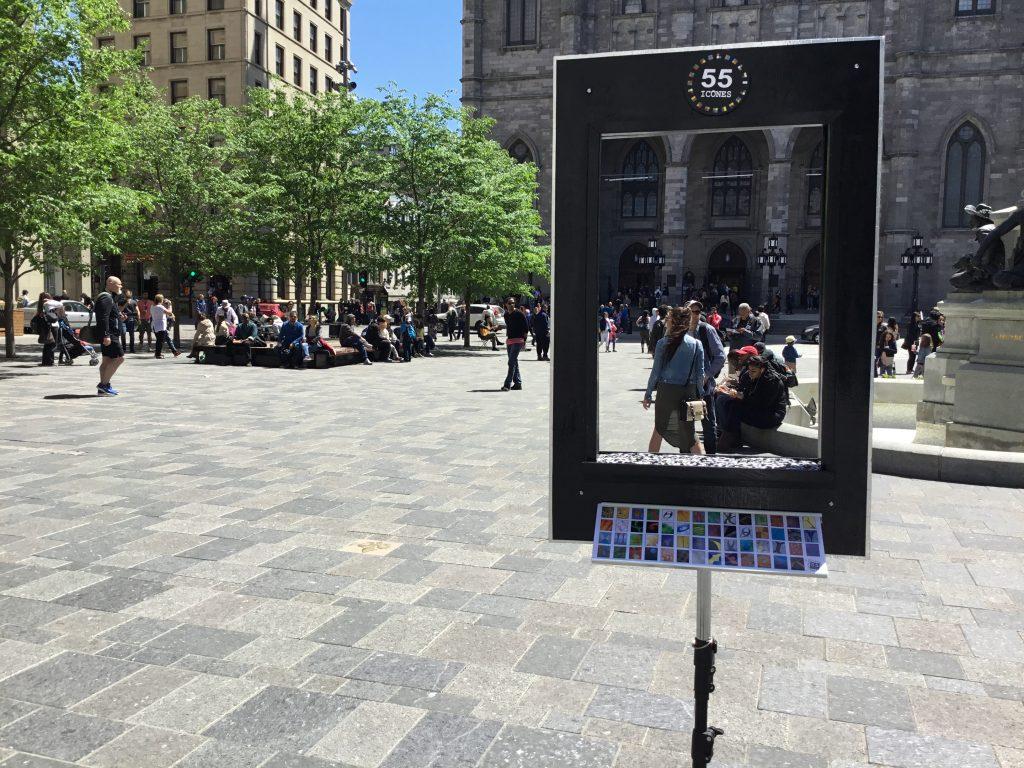 55 icônes à la Place d'Armes